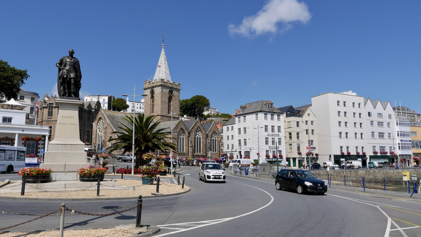 St Peter Port, Guernsey, the Channel Islands