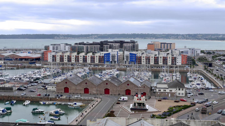 Saint Helierin marina Jerseyllä