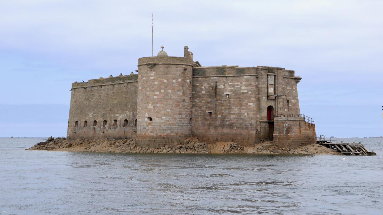 Château du Taureau Morlaix'n lahdella Bretagnessa