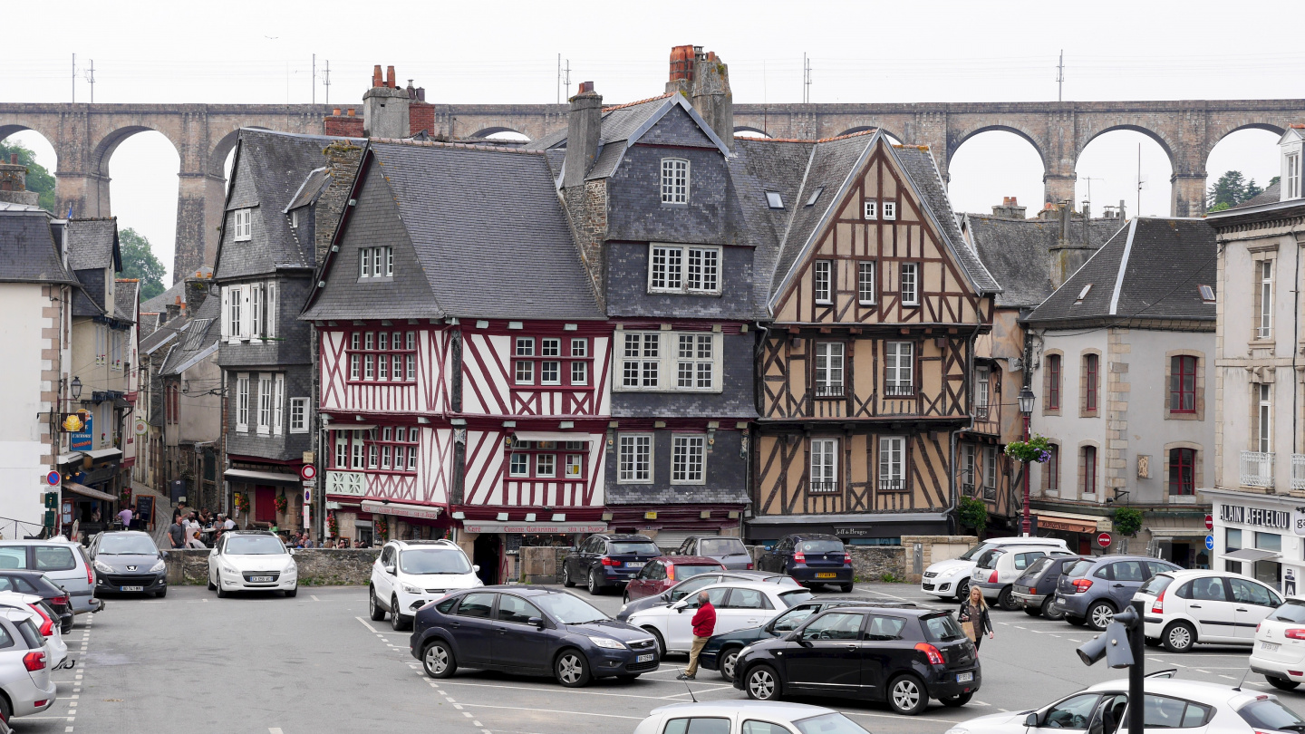 The old town of Morlaix