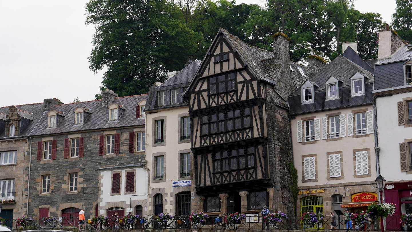 Duchess Anne's House in Morlaix