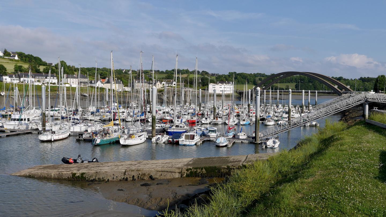 Tréguier marina in Brittany