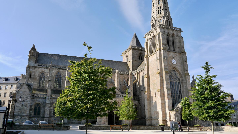 St Tudwalin katedraali Tréguierissa Bretagnessa
