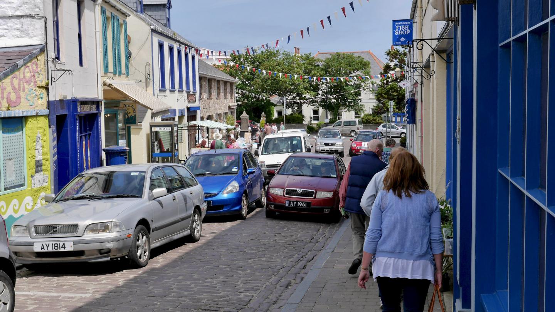 St Anne kaupunki Alderneyn saarella