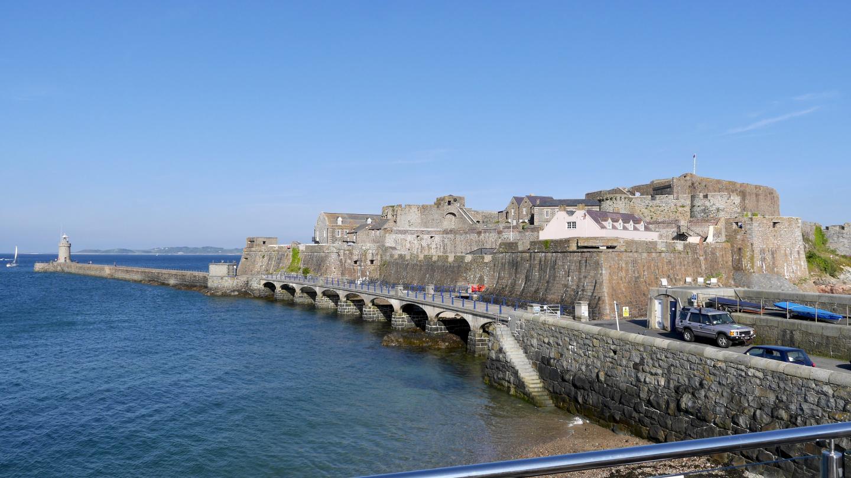 Cornetin linnoitus St Peter Portissa Guernseyllä