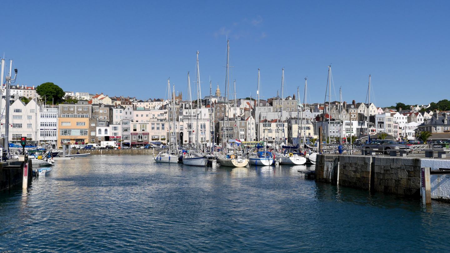 St Peter Port Guernsey, the Channel Islands