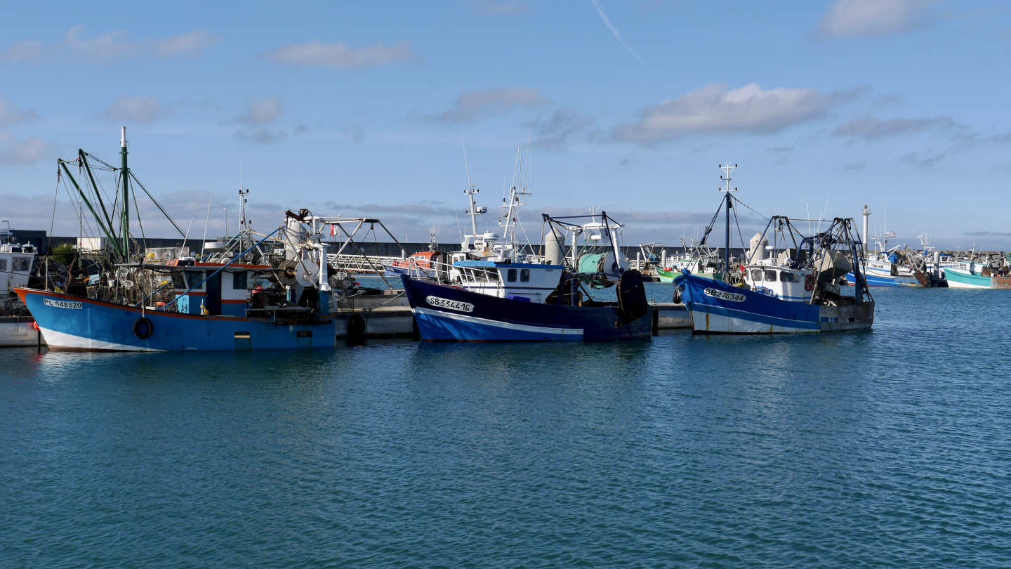 The fishing fleet of Saint Quay Portrieux