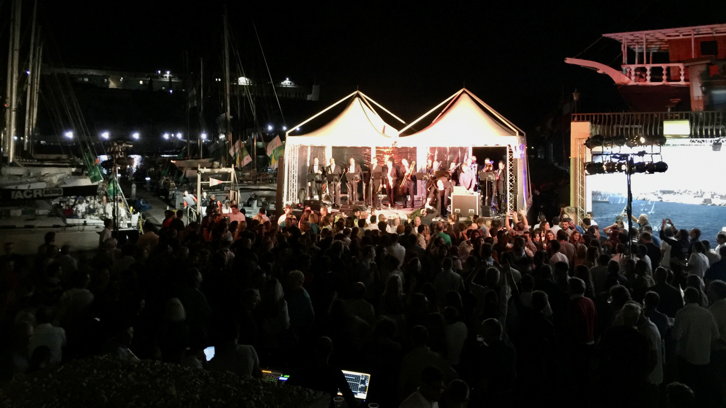 Crew party of Rolex Middle Sea Race