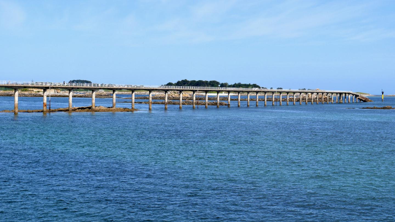 Sea bridge of Roscoff