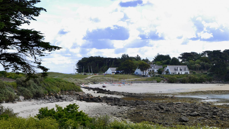 Beach of Île de Batz island