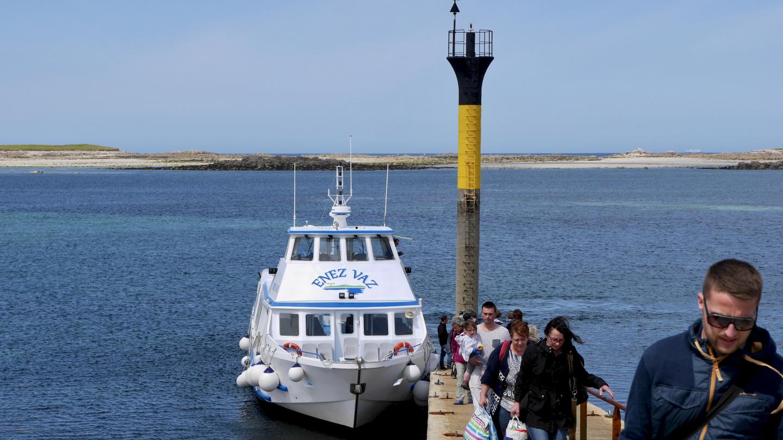 Ferry connection between Roscoff and Île de Batz island
