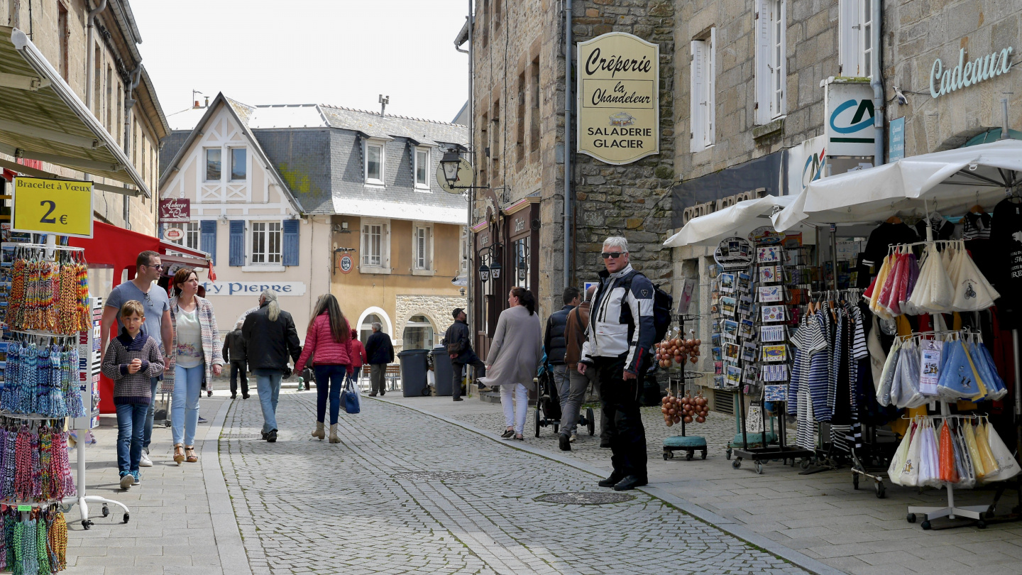 The center of Roscoff