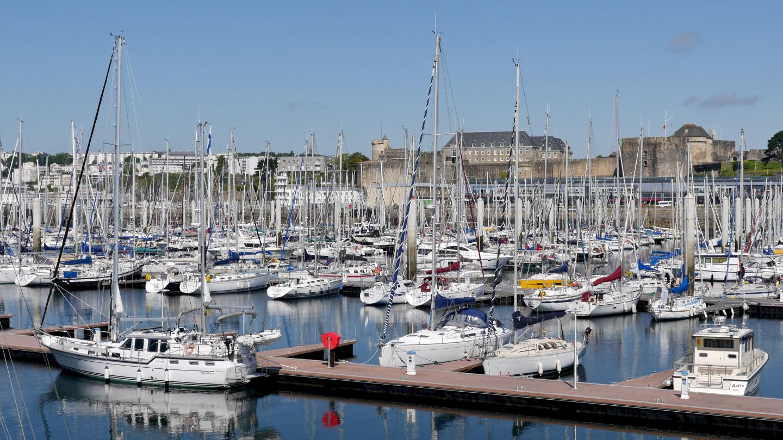 Suwena Marina du Château satamassa Brestissä