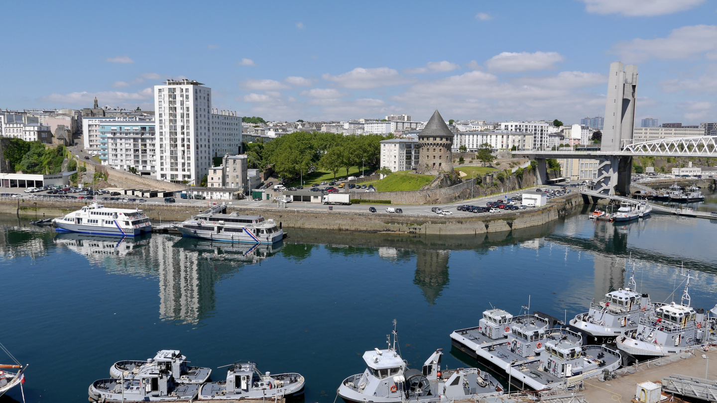 Brest and Tanguy tower