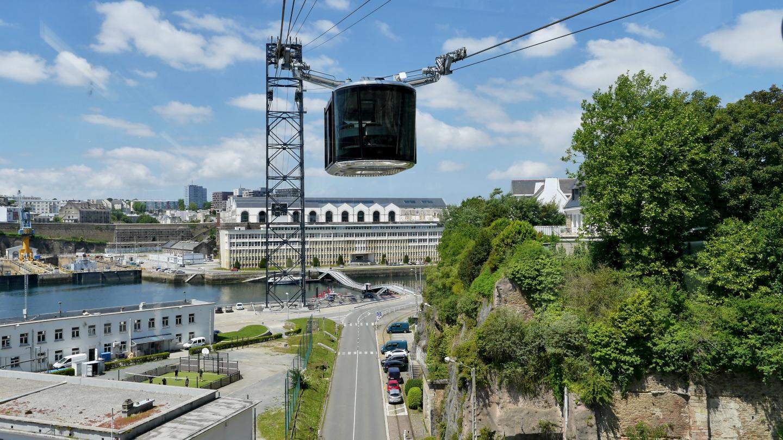 Funicular in Brest