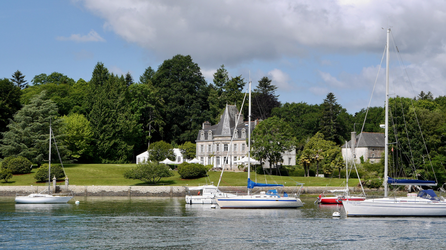 The river Odet in Brittany