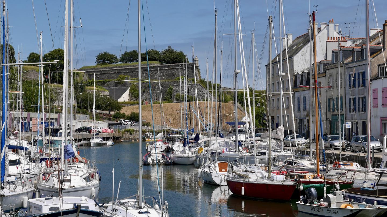 Le Palais:n satama Belle-Île saarella Bretagnessa