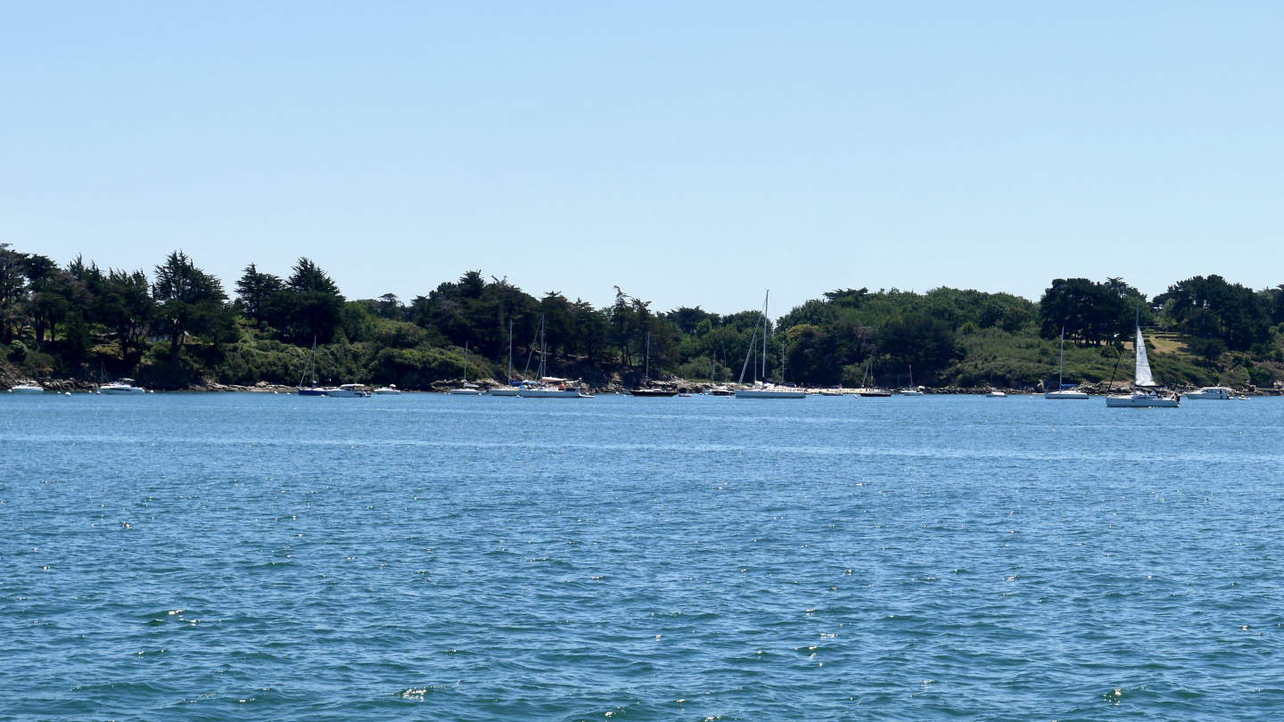 The Gulf of Morbihan in Brittany