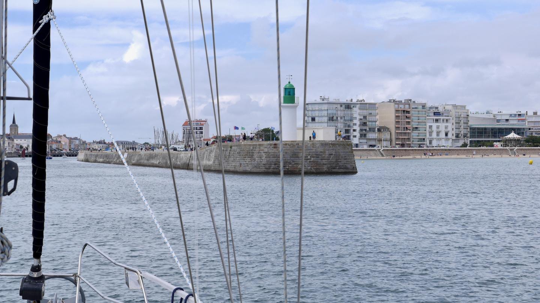 Les Sables d'Olonnen sisäänajo Ranskassa