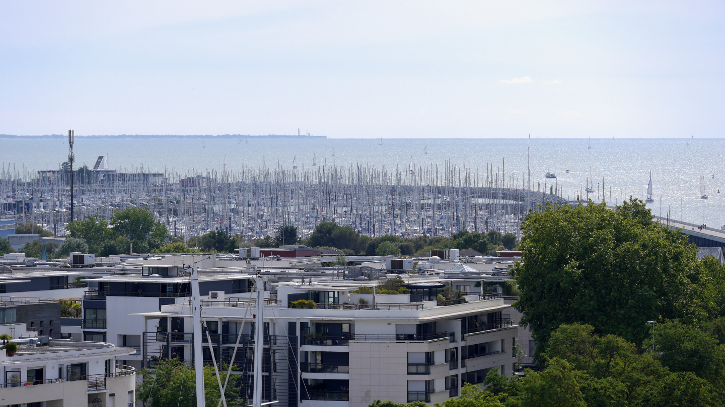 The marina of Les Minimes in La Rochelle, France