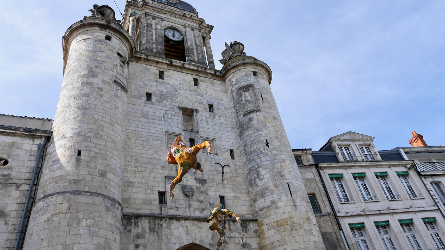 The medieval gate to the old town of La Rochelle