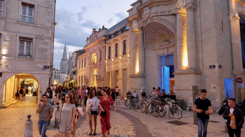 Roomalaiskortteli La Rochellen vanhassa kaupungissa