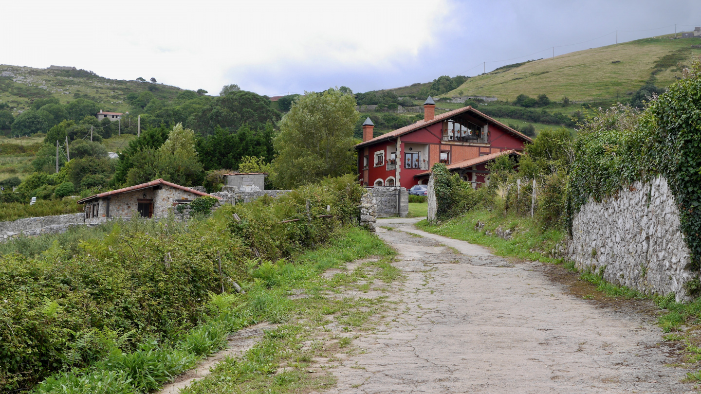 The Cantabrian ranch in Laredo in Spain