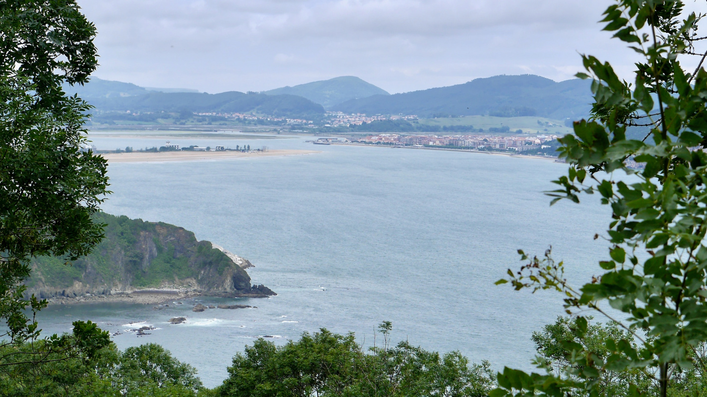 Ria de Trenton, Santoña in the background, Spain