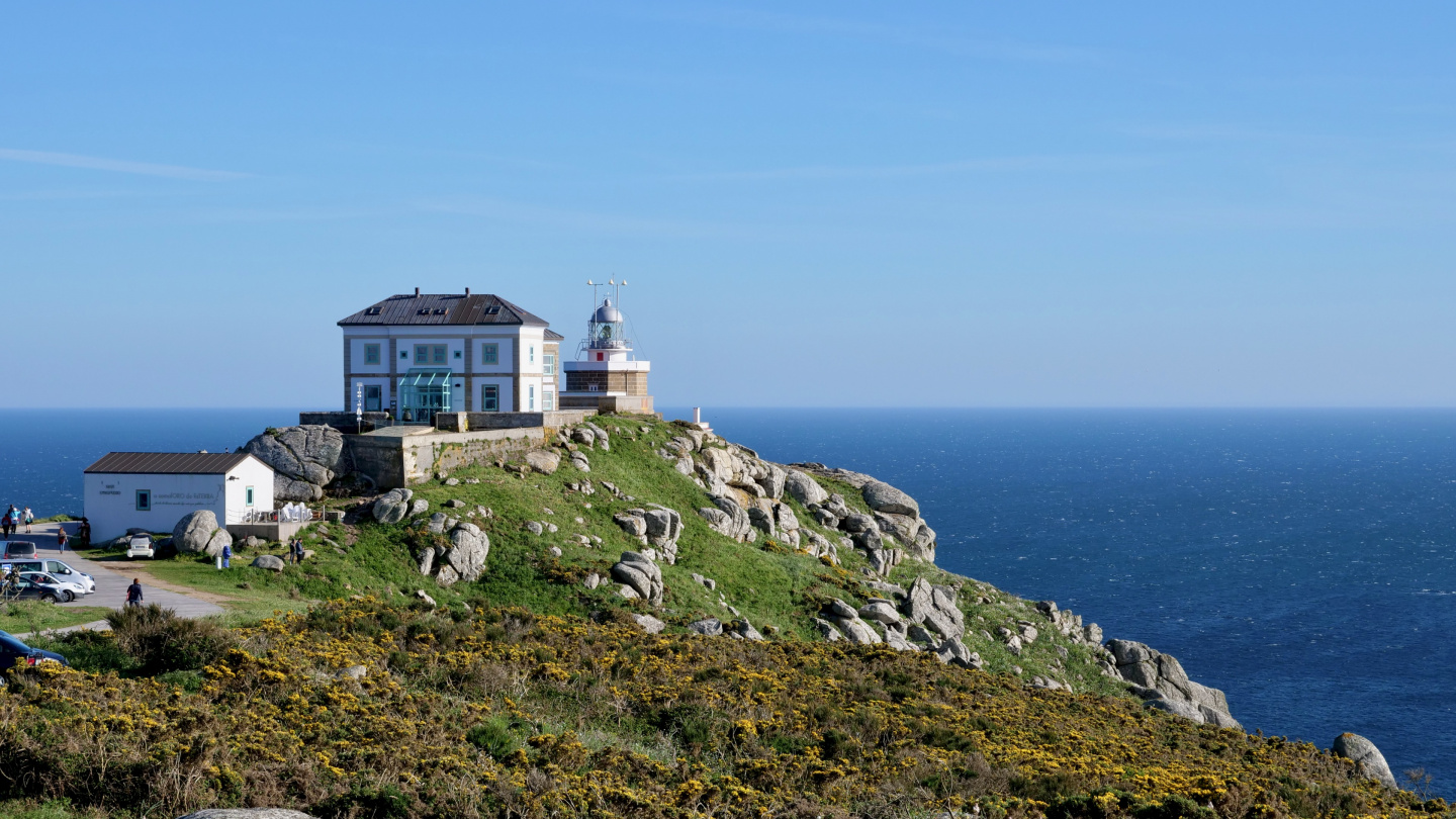 Lighthouse of Cabo de Finisterre in Galicia