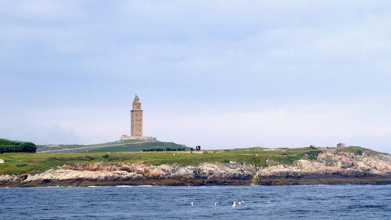 The Tower of Hercules in Coruña, Galicia