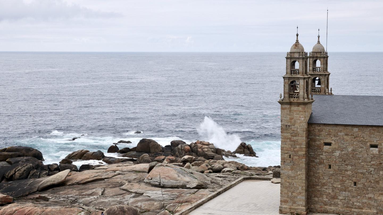 Nosa Señora da Barca church in Muxia, Galicia