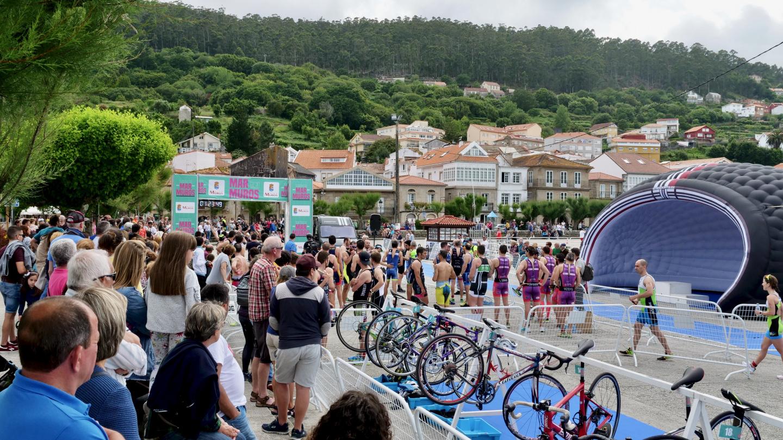 Triathlon in Muros of Galicia