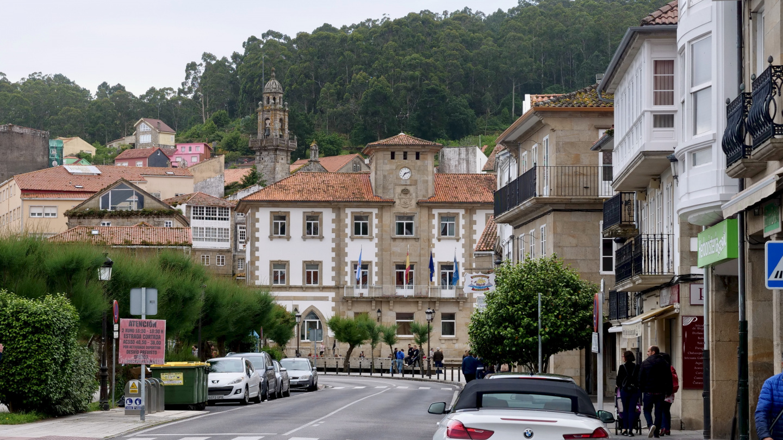 Muros in Galicia of Spain