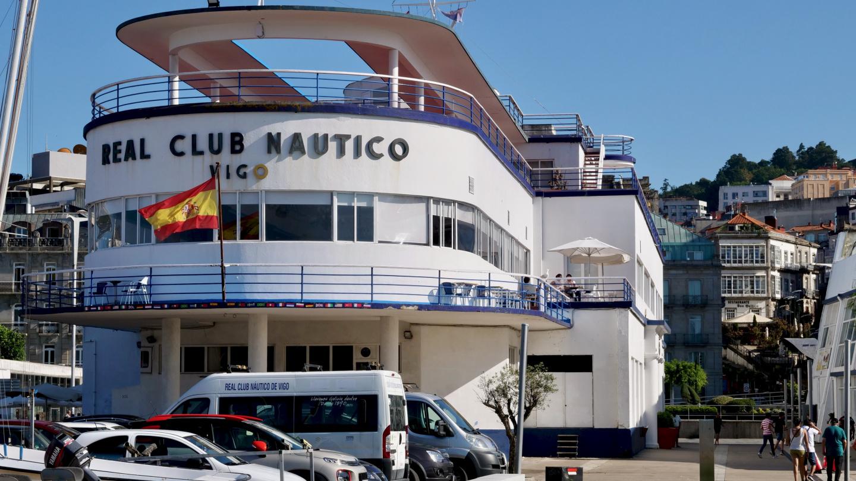 Real Club Nautico de Vigo klubitalo Vigossa, Galiciassa