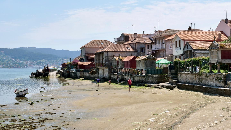 Waterfront of Combarro, Galicia