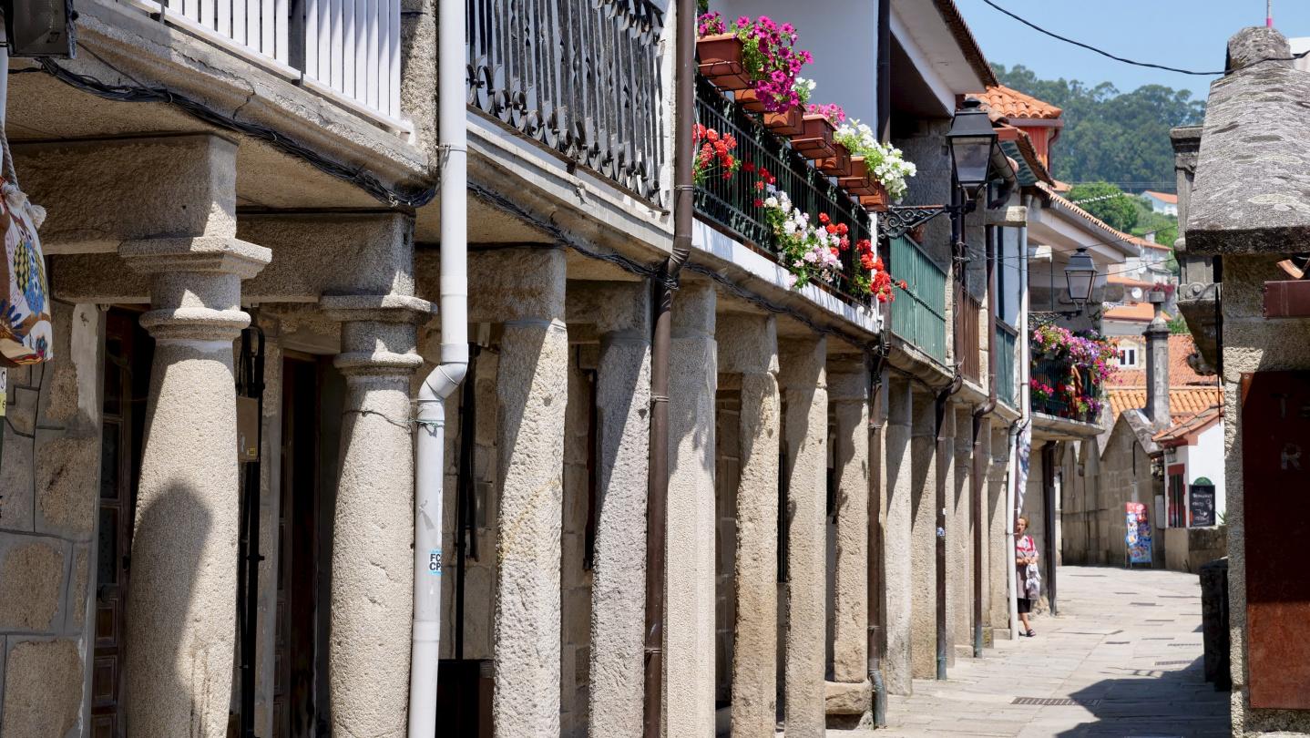 Combarro, Galicia, Spain
