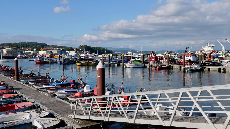 Fishing harbour of Caramiñal, Galicia
