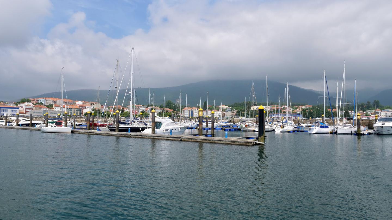 Marina of A Pobra do Caramiñal, Galicia