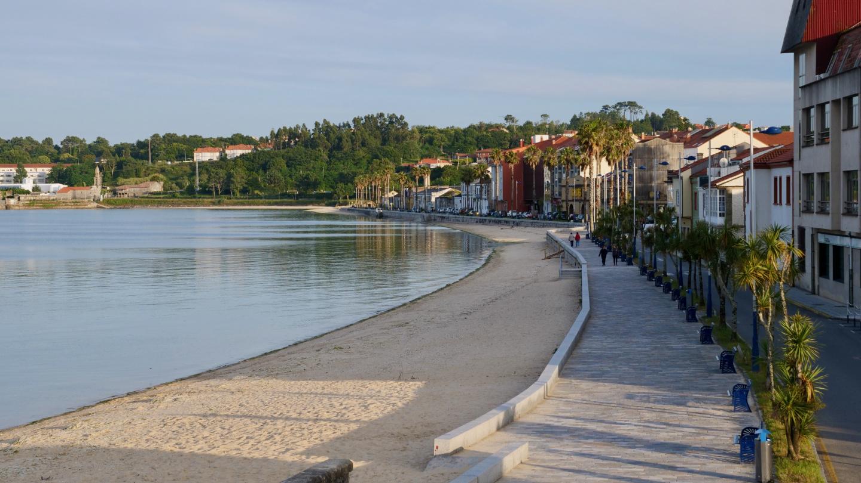 Waterfront of Caramiñal, Galicia
