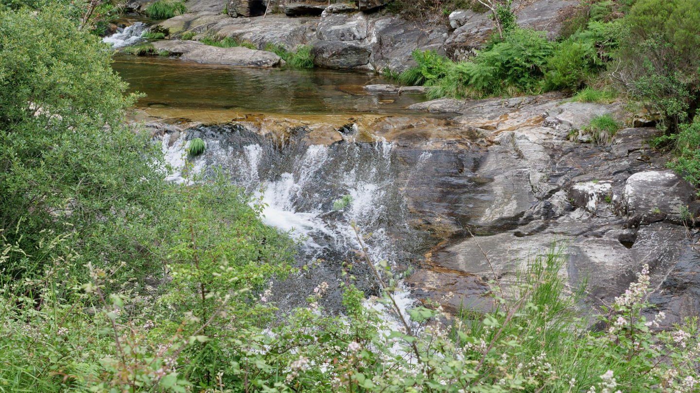 Rapids of río Pedras, Galicia