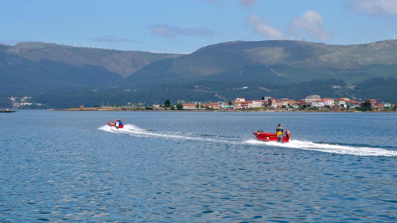 Bay of Carragueiros, Galicia